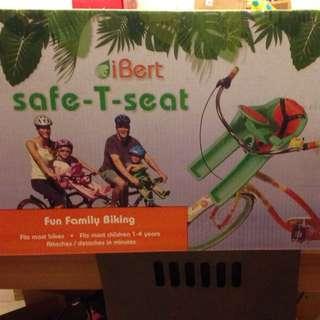 Ibert 腳踏車兒童椅/蛙蛙椅全新~粉紅色