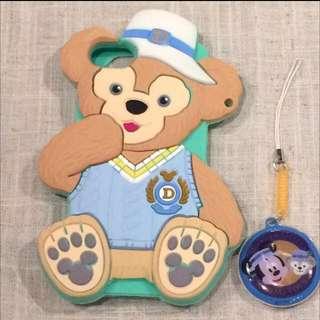達菲熊iphone5s 手機殼