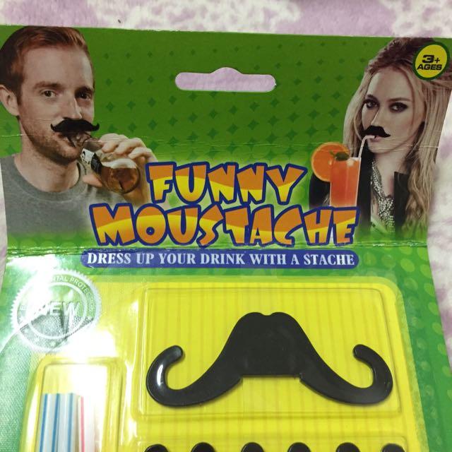 搞笑鬍子生日派對必備