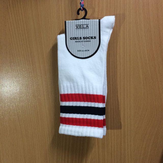 ⚠️現貨🔺線條足球襪⚽️台灣製造