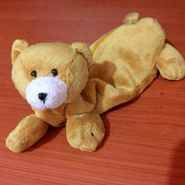 🐻誠品超可愛泰迪小熊鉛筆包🐻(含運)