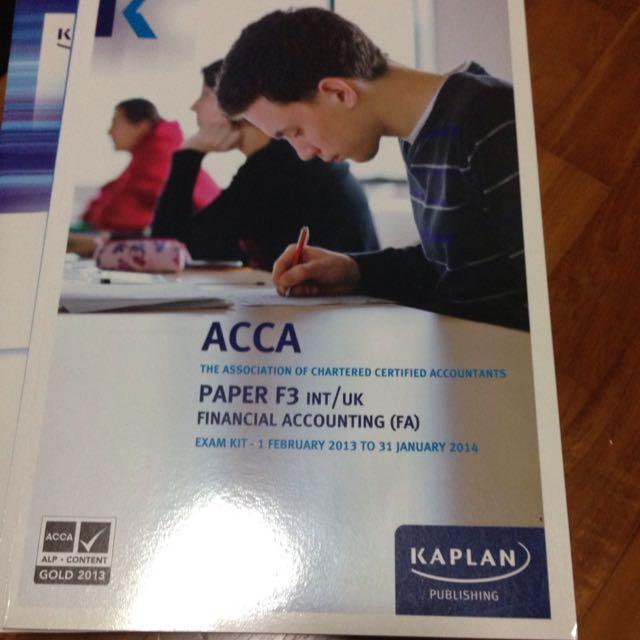 Acca F3 Exam