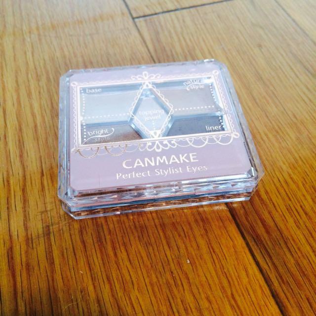 【九成新】【洽中】Canmake 五色眼影盤