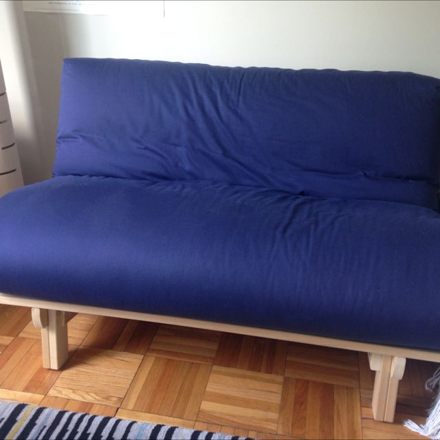 Futon Mattress And Solid Wood Fold Bed