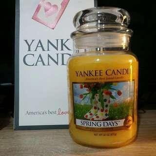 Brand New Yankee Candle Large Jar.
