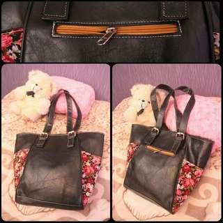 Black Flowery Vintage