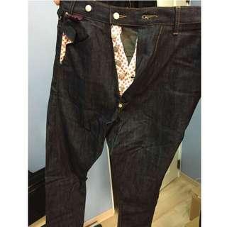 [男]韓版造型牛仔長褲