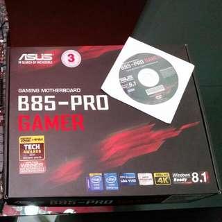 Asus B85 Pro Gamer I5-4690 @ 3.5ghz