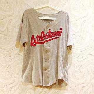 古著棒球罩衫
