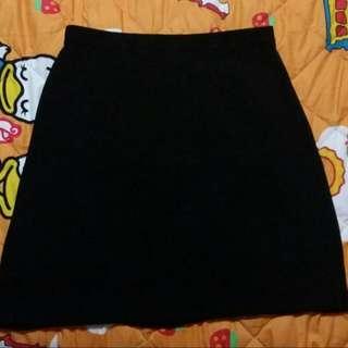 Black Skirt .