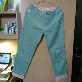 粉綠老爺褲