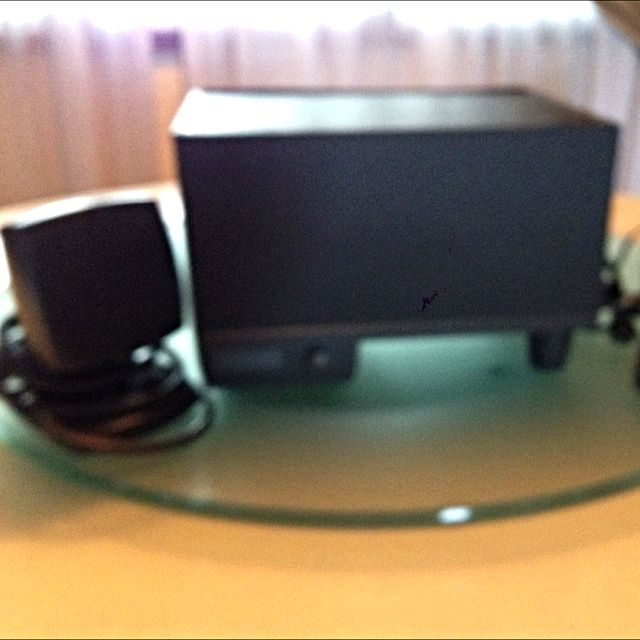 Altec Lansing Multimedia Computer Speaker System Powered Subwoofer  One Set  Black And One Set White ( Price Quoted Is Per Set)