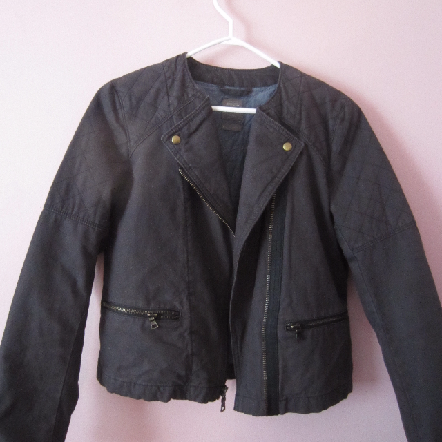 Dark grey Gap Military jacket