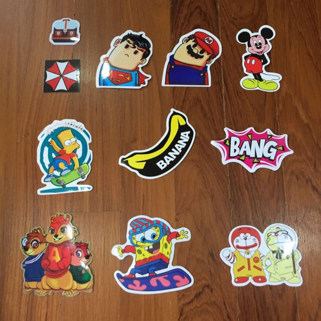 Glossy Tumblr Stickers Waterproof Luggage Decal Laptop Stickers Bulletin Board Looking For On Carousell
