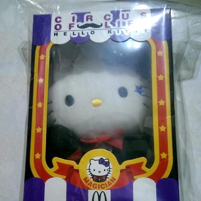 全新-麥當勞hello kitty魔術師款
