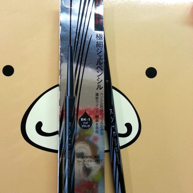 KATE 凱婷 級細持色眼線膠筆BK-1 0.12g