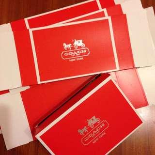 Coach小紙盒