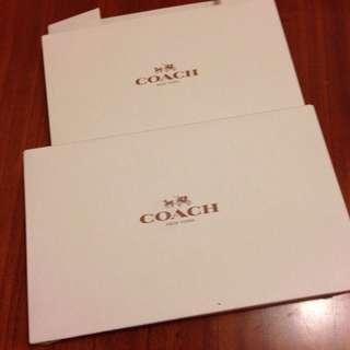 Coach中紙盒