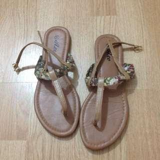 Ardene Floral Sandals
