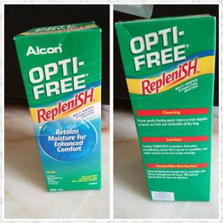 OPti Free Eye Solution