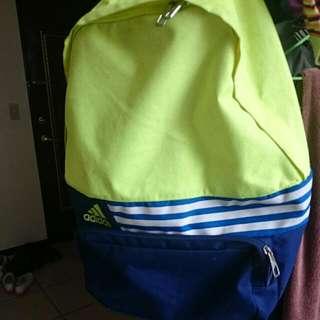 降價!!Adidas螢光配色後背包
