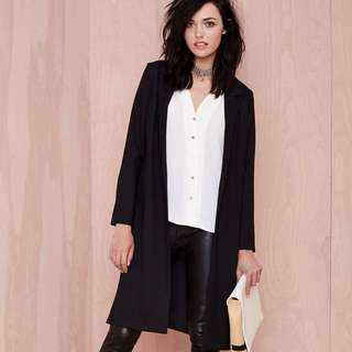 Nasty Gal Duster Coat