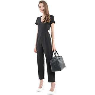 Hervelvetvase - Valentine Tailored Pantsuit (Black)