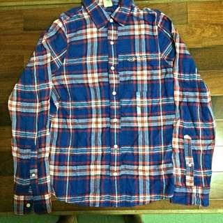 Hollister格紋襯衫