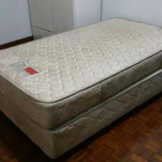 Thick Single Size Mattress For Sale (with Frame!)
