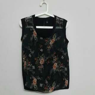 MNG Collection Floral Top