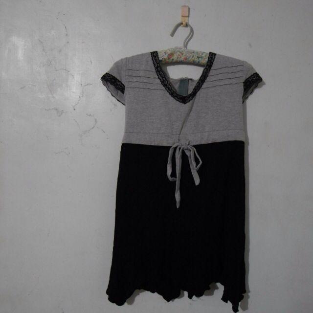 氣質蕾絲短袖衣