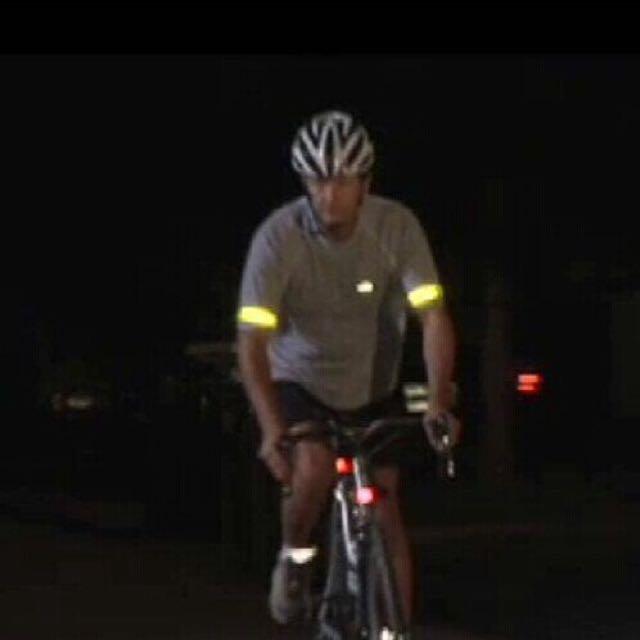 反光條 安全腳踏車反光手環