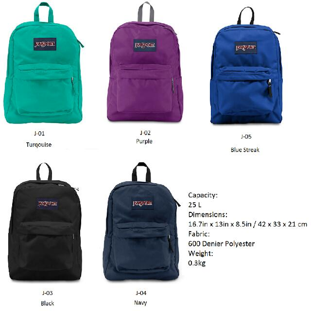 Jansport Backpack Measurements - Motorslist