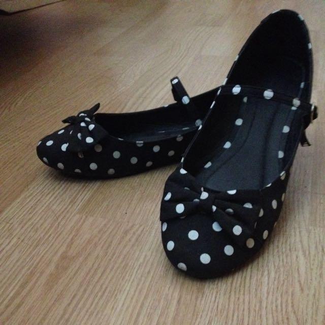 Forever 21 Polka Dot Flats