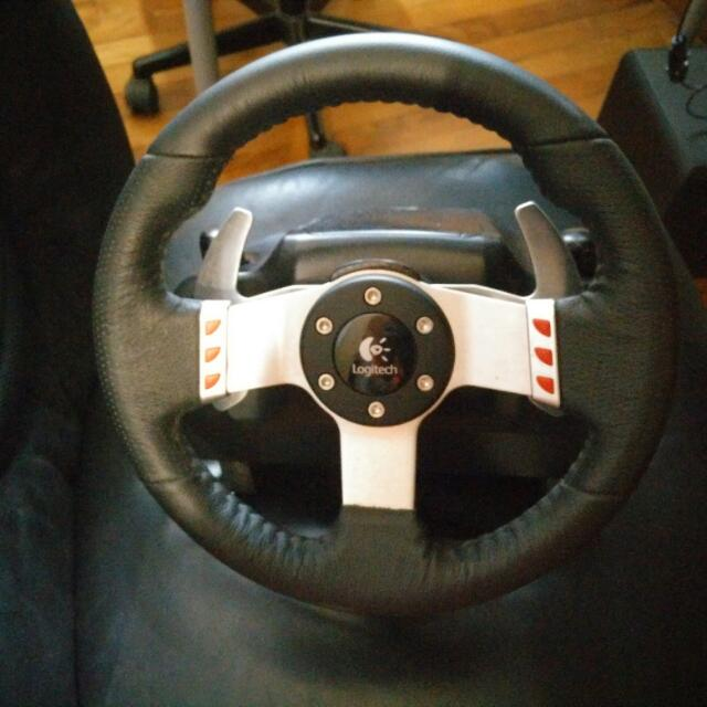 7469bdf110b Logitech G27 with GTEYE Brake Spring Mod, Electronics on Carousell