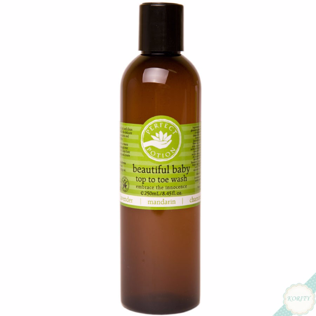 PERFECT POTION: BEAUTIFUL BABY TOP TO TOE WASH 250ML