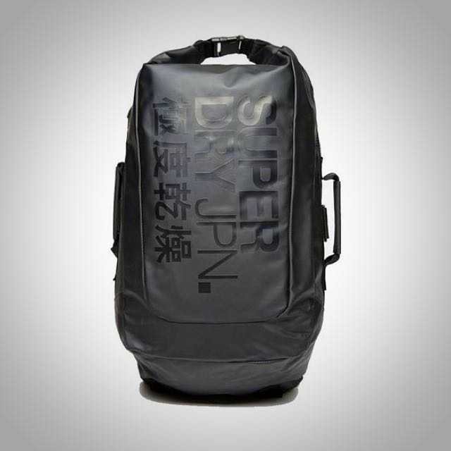 SUPERDRY Scuba Waterproof Bag (BLACK)  LAST PIECE  516cece86ab2b