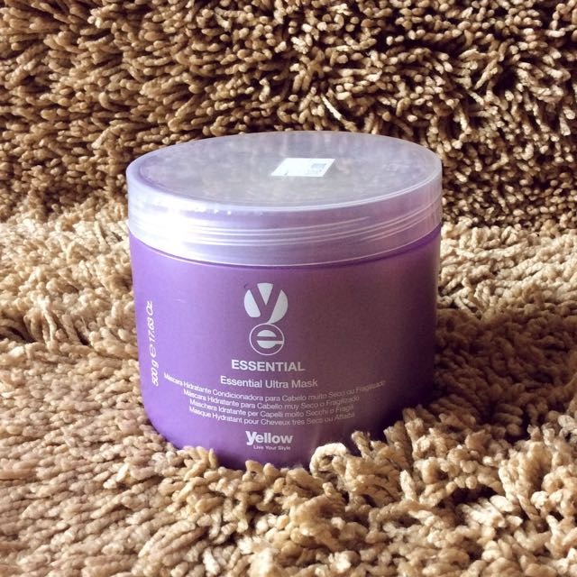 YELLOW Essential Ultra Mask Hair Mask 500g