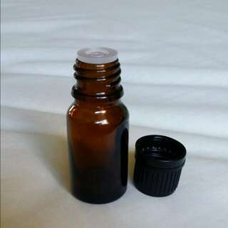 10ml Amber Glass Bottles