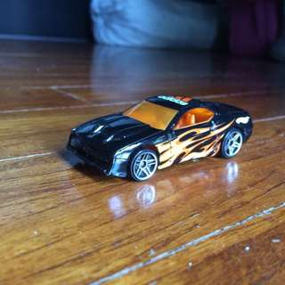 Hot Wheels Diecast Flaming Adidas Car
