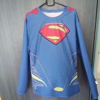 Superman Long Sleeve Tee
