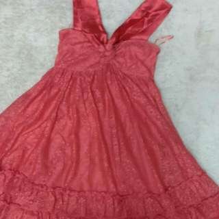 MNG Red Party Dress