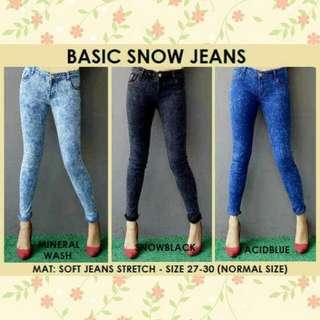 BASIC SNOW JEANS