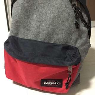 Eastpak Grey/Red Back Pack 25L