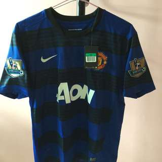 180debeb2 Offical Manchester United 11 12 Away Kit With Vidic  15 Printing