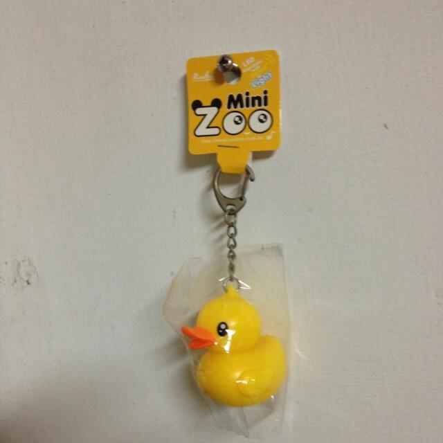 全新黃色小鴨 2013年 高雄場 發光鑰匙圈