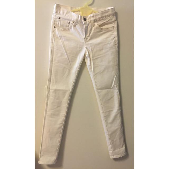 韓製 白褲
