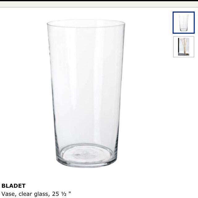 Ikea Bladet Vase Furniture On Carousell