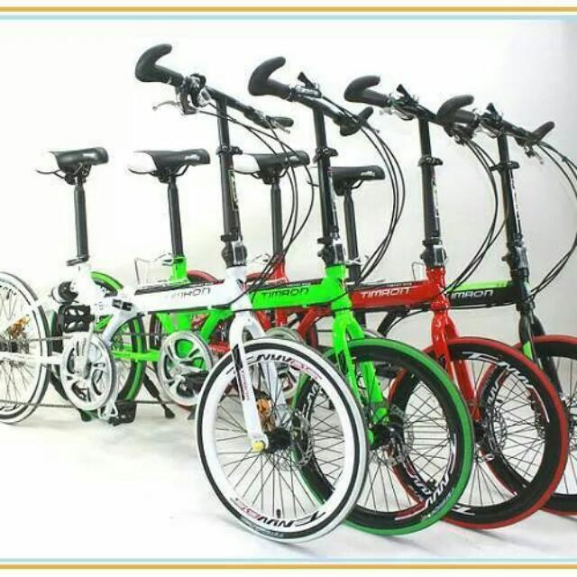 Japan Timaon 20 Folding Bike Malaysia Day Promo Sporting Gear On