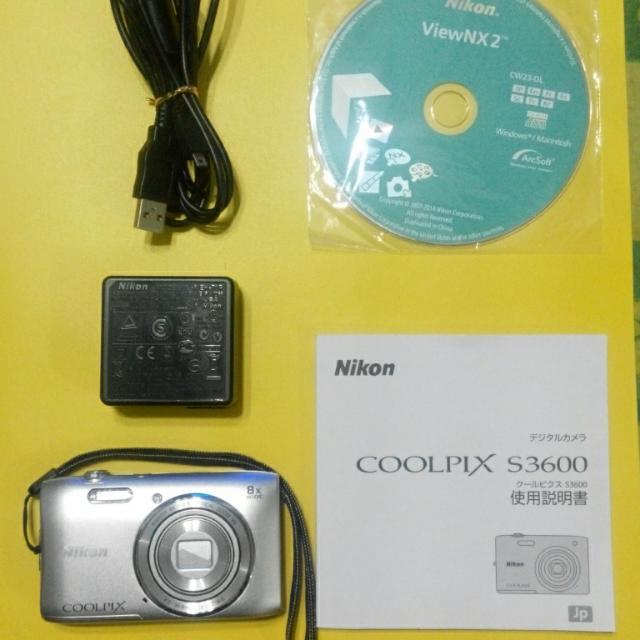 Nikon相機 S3600